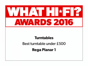 What Hi-Fi Awards 2016 - Best turntable under £500