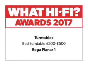 What Hi-Fi Awards 2017 - Best turntable £200–£500