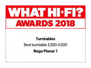 What Hi-Fi Awards 2018 - Best turntable £200–£500