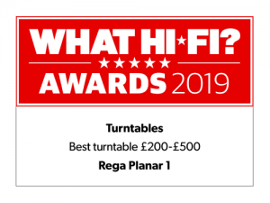 What Hi-Fi Awards 2019 - Best turntable £200–£500