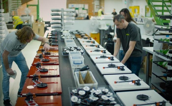 Planar 2 and Planar 3 production at the Rega factory