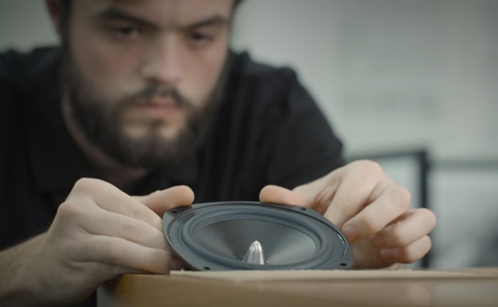 Loudspeaker production at the Rega factory