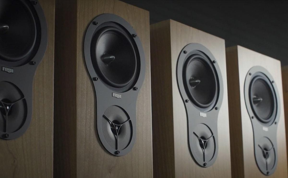 A set of Rega's loudspeakers.