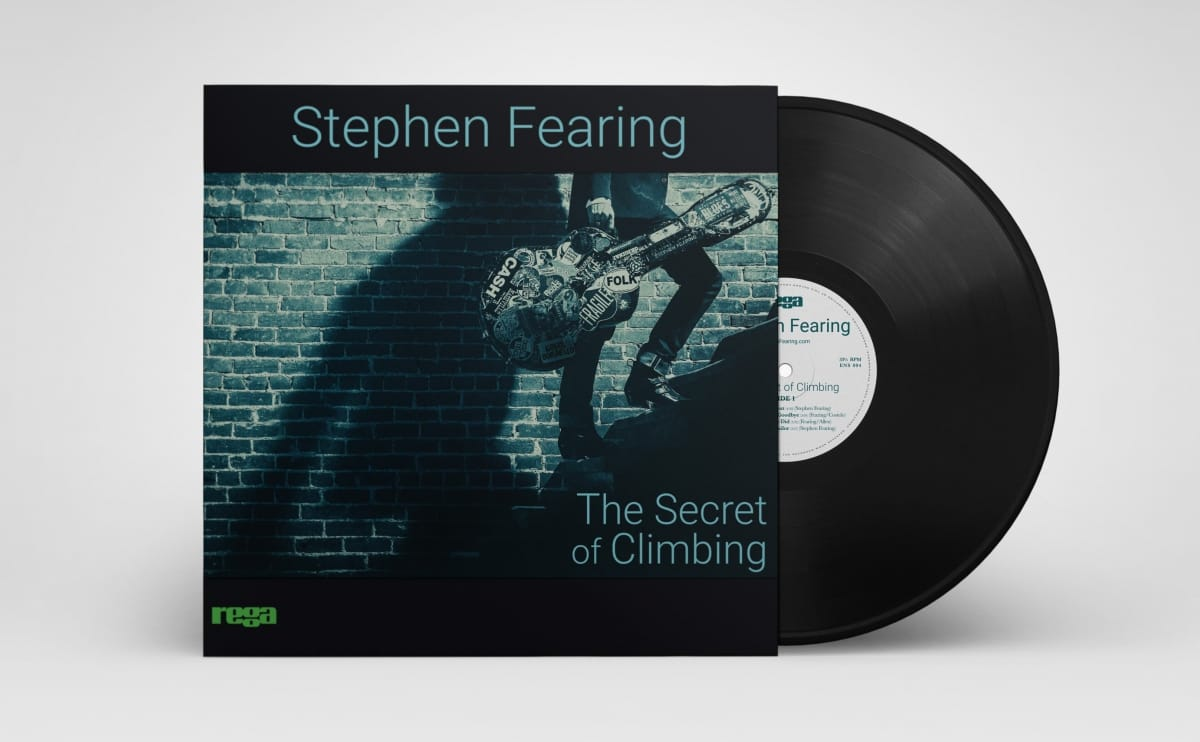'The Secret of Climbing' album cover