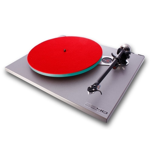 Rega's limited edition 40th anniversary RP40 turntable, of which 3000 were made.