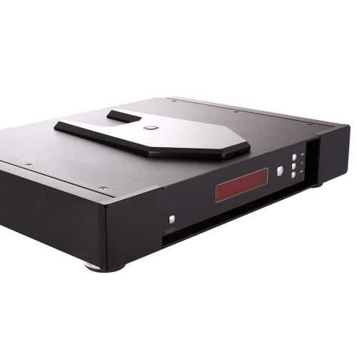 Rega's Saturn-R CD Player sporting a full-width case.